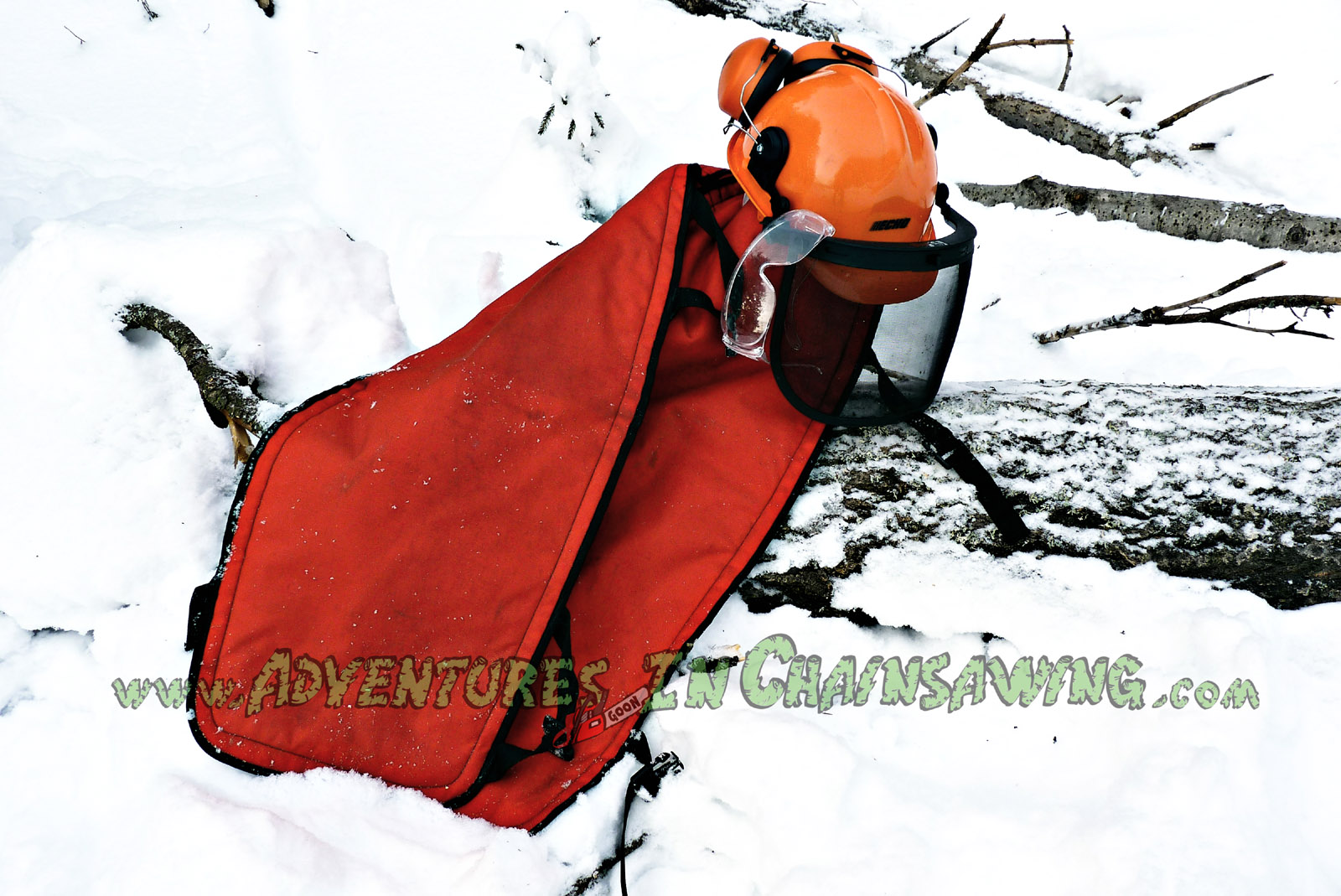 RD Faulkner reversible chaps for enhanced chainsaw safety