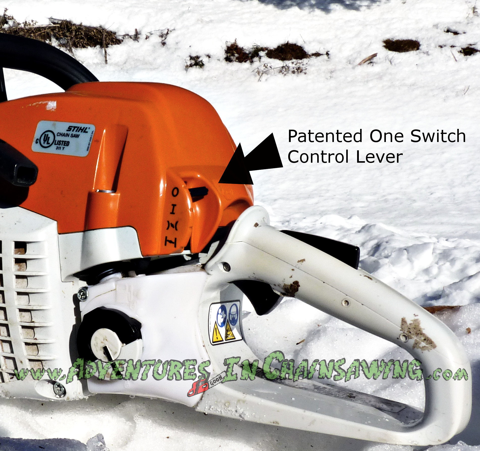 Patented Single Lever Control Switch Stihl MS 271 Review
