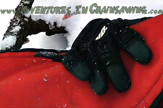 ANTI-VIBRATION SYNTHETIC GLOVE - XL Part No. 96130000102 enhance chainsaw safety.