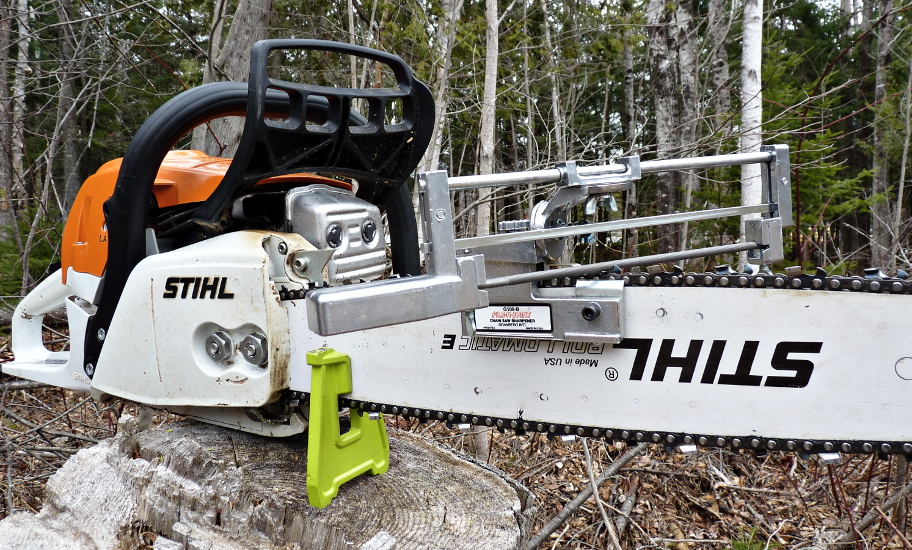 World's best chainsaw blog pic of MS 271 with a Granberg G106-B